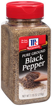 McCormick® Pure Ground Black Pepper 7.75 oz. Shaker