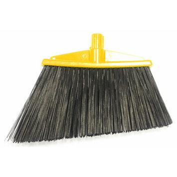 Syr Angle Broom Bristles Color: Yellow