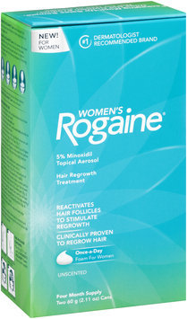 Women's Rogaine® Four Month Supply Topical Solution Hair Regrowth Treatment 2-2.11 oz. Aerosol Cans