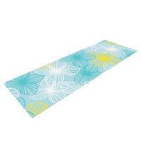 Kess Inhouse Aqua Sunshine by Emine Ortega Yoga Mat