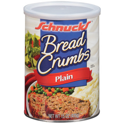 Schnucks Plain Bread Crumbs 15 Oz Canister