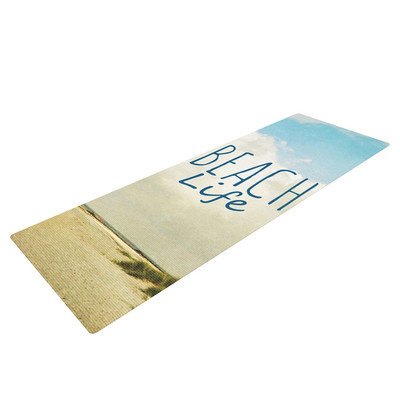Kess Inhouse Beach Life by Iris Lehnhardt Beach Yoga Mat