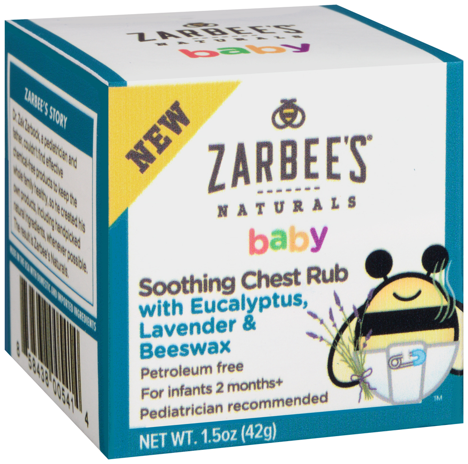 Zarbee's® Naturals Baby Soothing Chest Rub 1.5 oz. Box