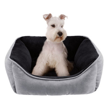 Soft Touch Buster Rectangular Reversible Cuddler Dog Bed - 25