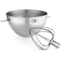 KitchenAid 3-Qt. Stainless-Steel Bowl & Combi-Whip Set, KN3CW