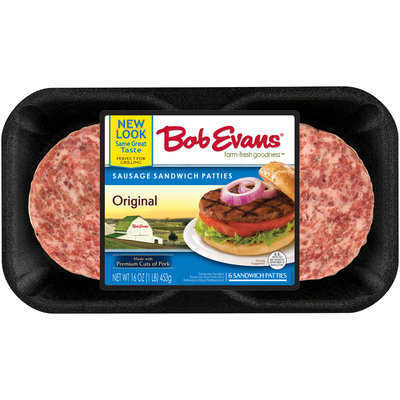 Bob Evans® Sausage Sandwich Patties 6 ct Tray