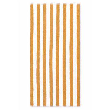 Crover Cabana Stripe Beach Towel Color: Tan