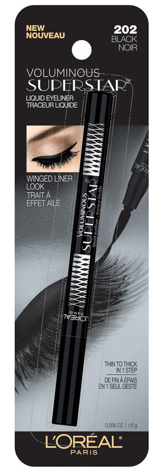 L'Oréal Voluminous Superstar™ Liner 202 Black