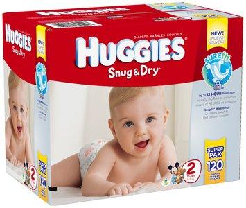 Huggies® Snug & Dry Size 2 Diapers 120 ct Box