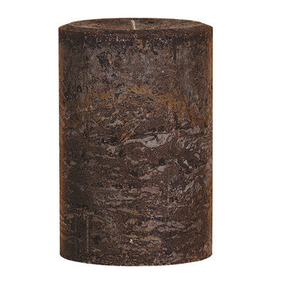 Oddity, Inc. Oddity 53820 4 in. x 6 in. Weathered Pillar Candle Latte Pack of 2