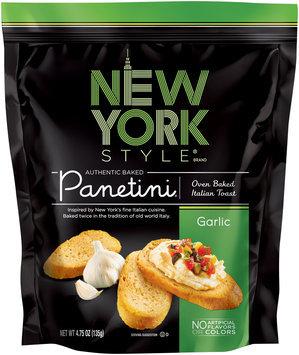 New York Style® Garlic Panetini 4.75 oz. Bag