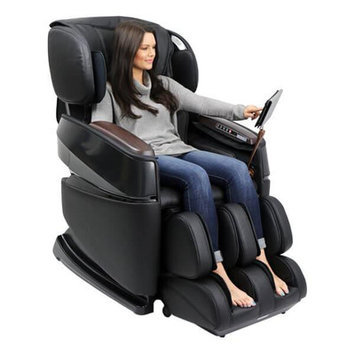 Ogawa Smart 3D Zero Gravity Reclining Massage Chair Upholstery: Black
