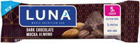 Luna Dark Chocolate Mocha Almond Nutrition Bar