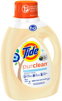 Tide purclean liquid laundry detergent for Regular and HE washers, Unscented