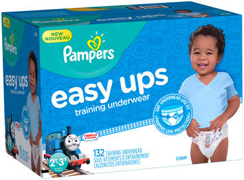 Pants Pampers Easy Ups Training Underwear Boys Size 4 2T-3T 132 Count