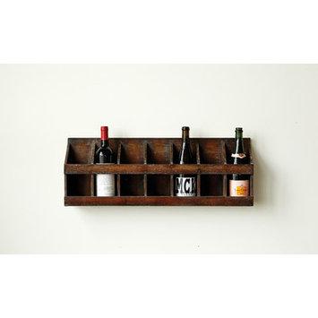 Creative Co-op Wall Mount Wine Holder