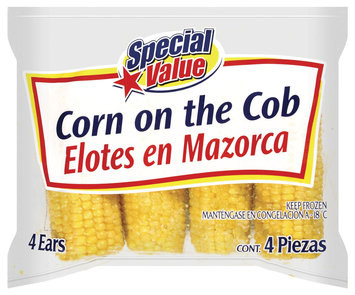 Special Value On The Cob Corn 4 Ct Bag