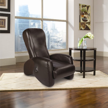 Red Barrel Studio Massage Chair Upholstery: Espresso, SofHyde/Sofsuede
