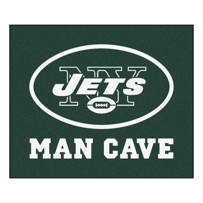 Sls Mats Fan Mats FAN-14347 New York Jets NFL Man Cave Tailgater Floor Mat - 60in x 72in