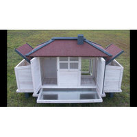 Cc Only Chicken Coop with Lockable Nesting Box and Storage