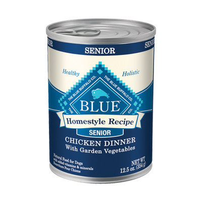 THE BLUE BUFFALO CO. BLUE™ Homestyle Recipe® Chicken Dinner with Garden Vegetables For Senior Dogs