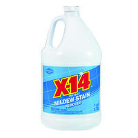 WD-40 Bathroom and Tile Cleaners X-14 Mildew Stain Remover, 1 gal