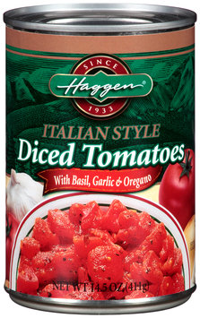 Haggen® Italian Style Diced Tomatoes 14.5 oz. Can