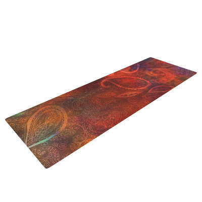Kess Inhouse Tie Dye Paisley by Nikki Strange Yoga Mat