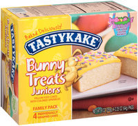 Tastykake® Bunny Treats Juniors® Yellow Iced Cakes with Colored Sprinkles
