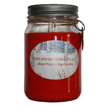 Covehousecandleco Cranberry Cobbler Jar Candle