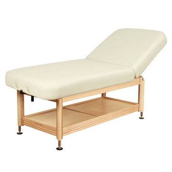 Oakworks Clinician Manual Hydraulic Lift Assist Backrest Top Color: Opal