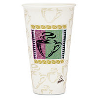 Dixie PerfecTouch Paper Cups 20 Oz Hot, Coffee Design, Pack of 500