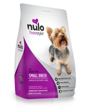 Nulo Freestyle™ High-Meat Kibble SMALL BREED Salmon & Red Lentils