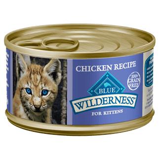 THE BLUE BUFFALO CO. BLUE™ Wilderness® Chicken Recipe For Kittens