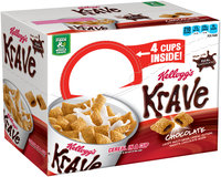 Kellogg's® Krave® Chocolate Cereal in a Cup 4 ct Box