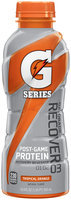 GATORADE G Series Recover Tropical Orange Protein Recovery Shake 16.9 OZ PLASTIC BOTTLE