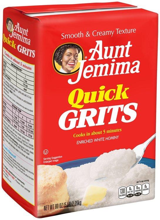 Aunt Jemima® Quick Grits 80 oz. Bag