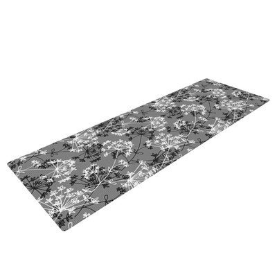 Kess Inhouse Dandy by Holly Helgeson Floral Yoga Mat