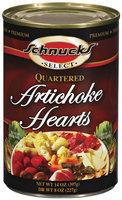 Schnucks Quartered Artichoke Hearts 14 Oz Can