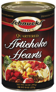Schnucks Quartered Artichoke Hearts 14 Oz Can