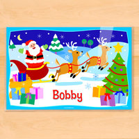 Olive Kids Christmas Personalized Placemat