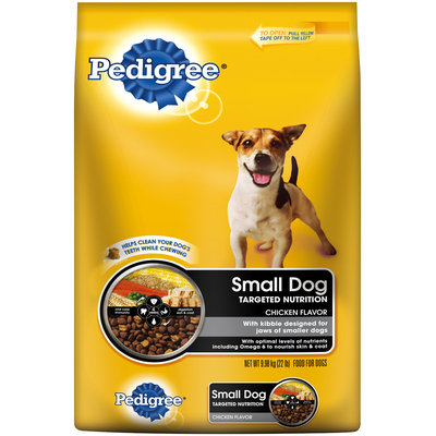 Pedigree® Small Dog Targeted Nutrition Dry Dog Food Chicken Flavor