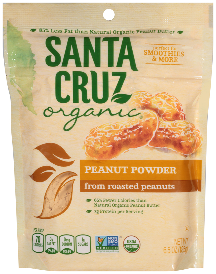Santa Cruz Organic® Peanut Powder from Roasted Peanuts 6.5 oz. Bag