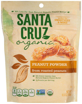 Santa Cruz Organic® Peanut Powder from Roasted Peanuts 6.5 oz. Bag