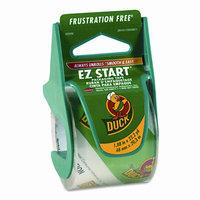 Duck EZ Start Carton Sealing Tape/Dispenser, 1.88 x 22.2yds, 1 1/2 Core