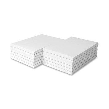 Sparco Products Memorandum Pads, Plain, 16 lb, 4
