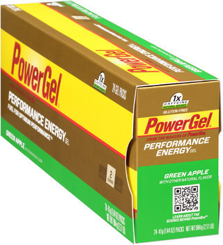 PowerBar Performance Energy PowerGel Green Apple