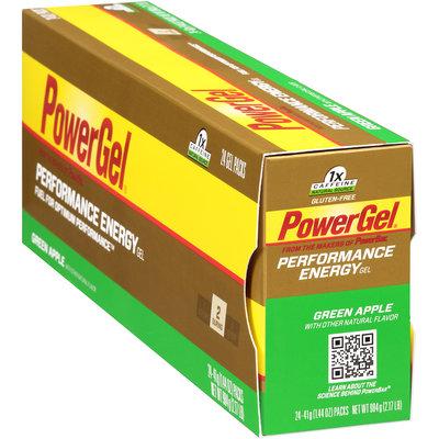 PowerBar Performance Energy PowerGel Green Apple