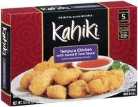 Kahiki® Tempura Chicken with Sweet & Sour Sauce Frozen Entree 8.5 oz. Box