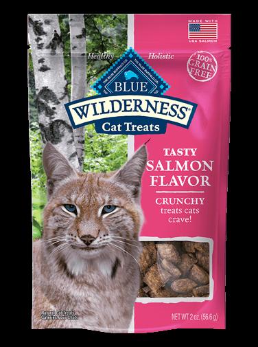 THE BLUE BUFFALO CO. BLUE™ Wilderness® Salmon Flavor Grain-Free Crunchy Cat Treats